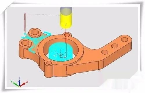 郑州UG编程培训四轴联动程序两种常用开粗加工刀路做法